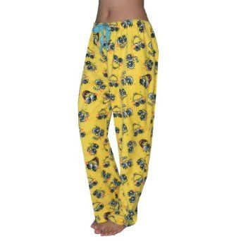 NICKELODEON SPONGEBOB Womens Comfortable Fit Polar Fleece Thermal Sleepwear / Pajama Pants - Yellow (Size: XL) SpongeBob SquarePants. $24.99