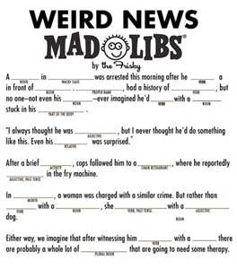 Free Adult Mad Libs - Bing images