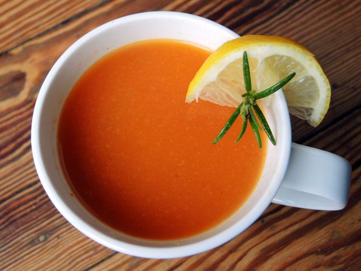 Tomatenbrühe zum Heilfasten Fastenrezept fürs Heilfasten