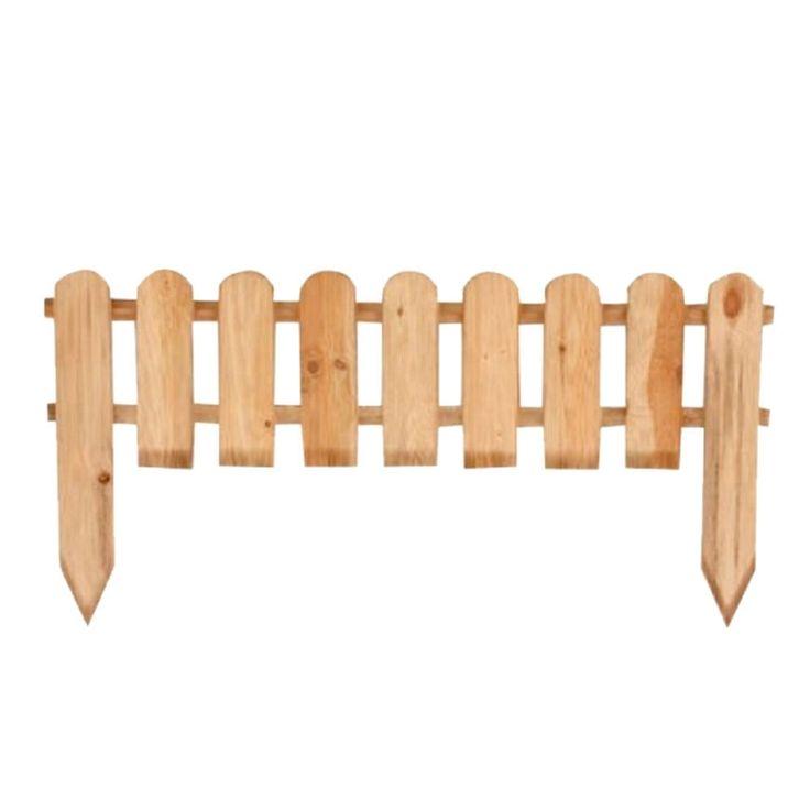 Staccionata in legno vampiro 45x3x120cm esterno arredo giardino steccato