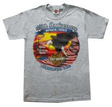 Harley-Davidson Men's American Eagle Limited Editon Grey t-Shirt EAGLE - Visit our online store at TeeShirtMadness.com where we have over 2,000 Tee Shirts all in one location ready for immediate delivery.