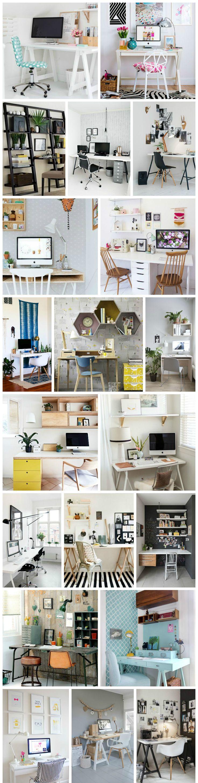 20 Ideias de Home Offices Simples e Adoráveis