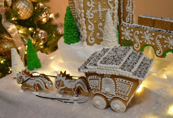 gingerbread carriage, oh my goodness this is so cute, incredible talent