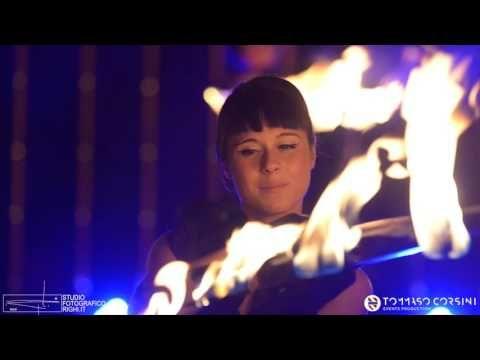 ALMA PROJECT - Fireshow - Fire dancers - beauty and elegance of Amazons - Tommaso Corsini Events Production - Corsini.Events