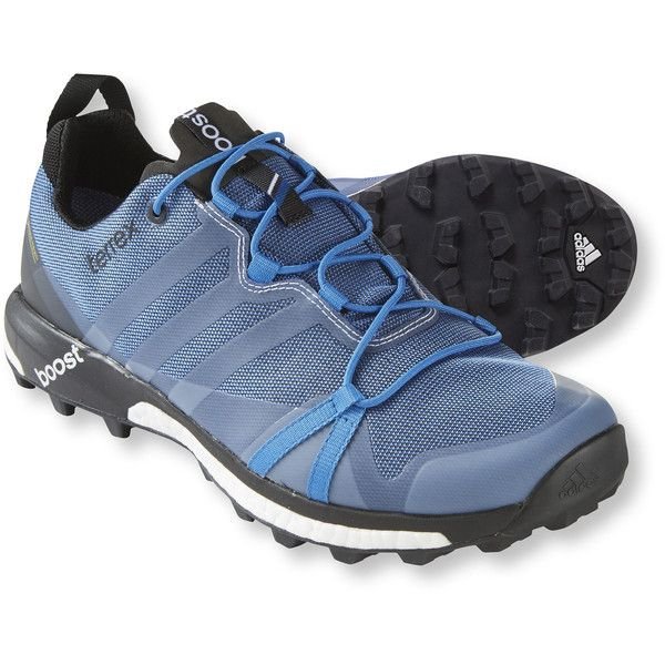Adidas Men's Terrex Agravic Gore-Tex Trail Running Shoes (€135) ❤ liked on Polyvore featuring men's fashion, men's shoes, men's athletic shoes, mens shoes, mens gore tex shoes, mens waterproof shoes, adidas mens shoes and mens athletic shoes