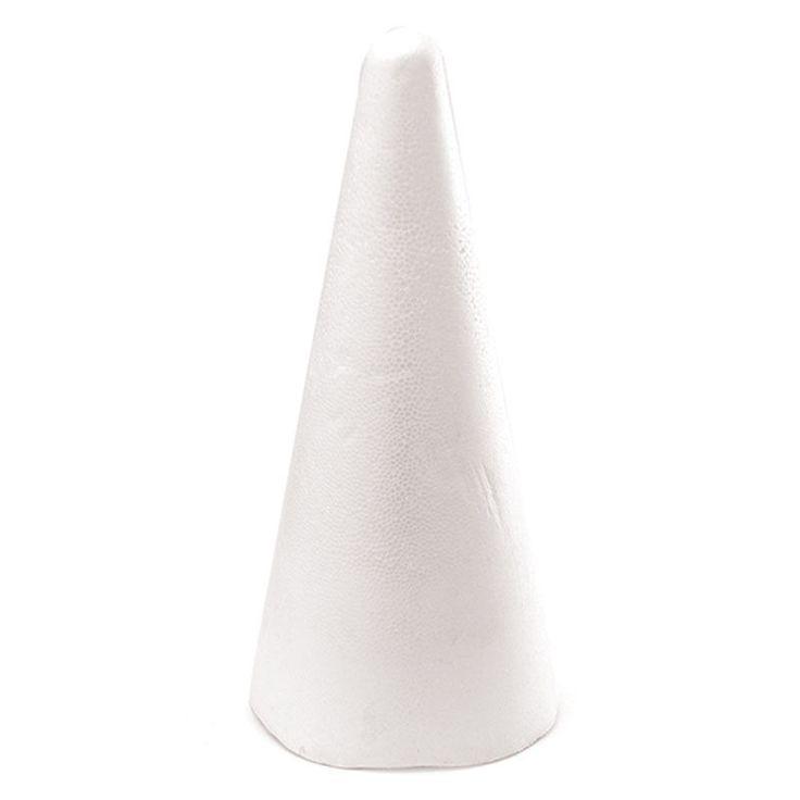 Polystyrene Cone 14 cm