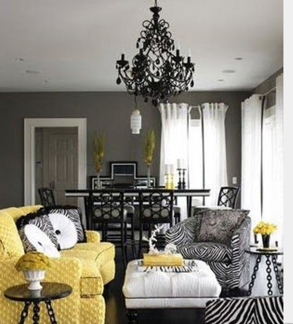 25 Yellow Modern Design Ideas For Your Home 015 #Home #Decor