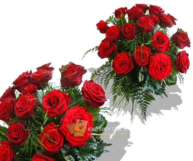 Červené růže Květiny online - květinářství Praha Pankrác - netradiční kytice, dárky pro muže, dárkové koše, ovocné kytice. Pro ženy čerstvé řezané růže, Holandské tulipány, gerbery. Rozvoz květin.