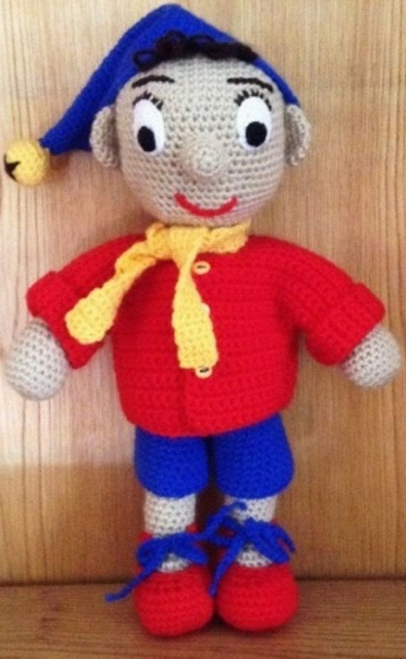 Noddy Doll Knitting Pattern : PDF Noddy Crochet Pattern by PatternsbySpook on Etsy Amigurumi Pinterest ...