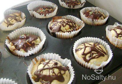 Barackos-csokis muffin