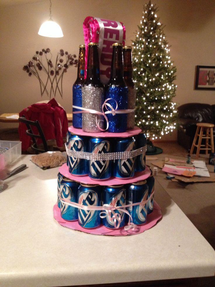 birthday beer 21 birthday birthday ideas liquor cake 21st gifts beer ...