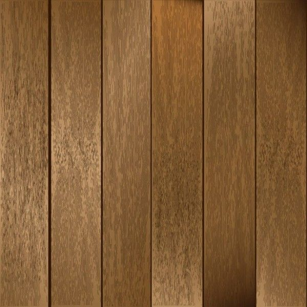 Realistic Wooden Planks - Free Vector Background