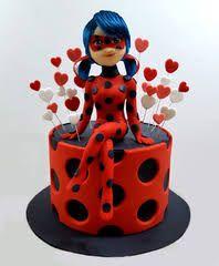 Resultado de imagen para ladybug cumpleaños torta