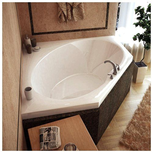 25 best ideas about drop in tub on pinterest shower for Best soaker tub for the money