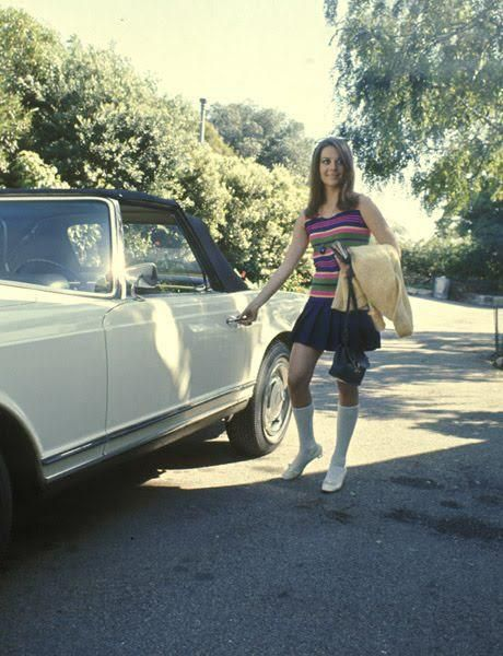 Natalie Wood In The Hollywood Hills 1969 Famous People