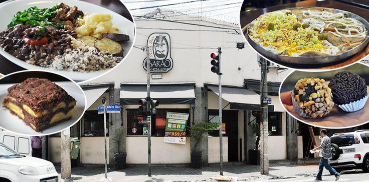 Barão Natural, o self service vegano mais barato da cidade que também é pizzaria