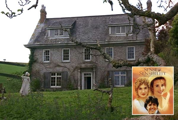"""Barton Cottage in the movie """"Sense and Sensibility"""" with Emma Thompson and Kate Winslet 