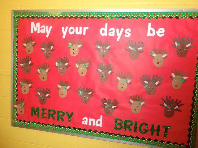 Christmas Bulletin Boards Pre K