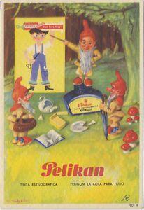 Papel secante. Publicidad de Pelikan y Peligom. 1901 R. | eBay