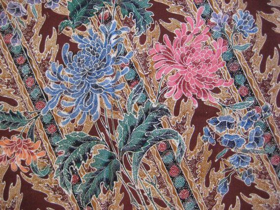 Handmade Indonesian Batik Sarong 100% cotton by HotelSilver