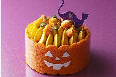 """アンリ・シャルパンティエから""""魔女の帽子""""や""""かぼちゃ""""に見立てたハロウィン限定ケーキ"""