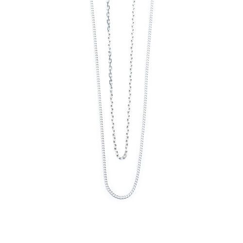 Vibe Harsløf. Style: Anna double chain necklace silver Foto: Kasper Buchardt Thye