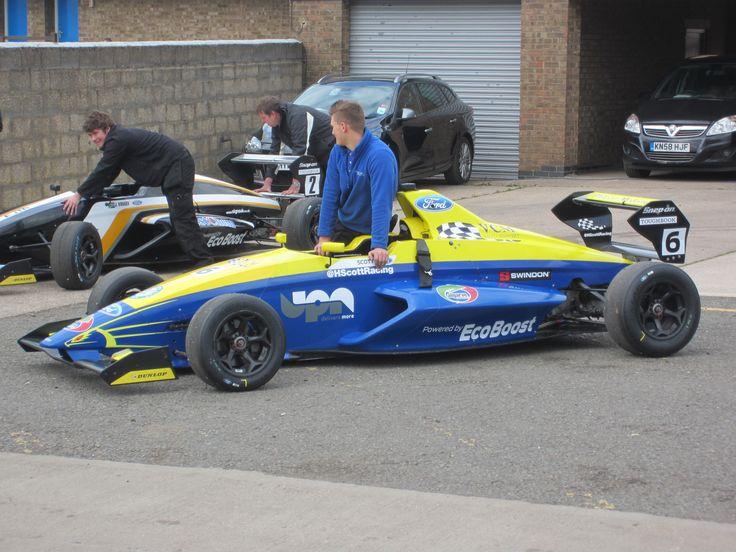 MSA Formula Ford Championship, Donington Park, 9th April 2014.