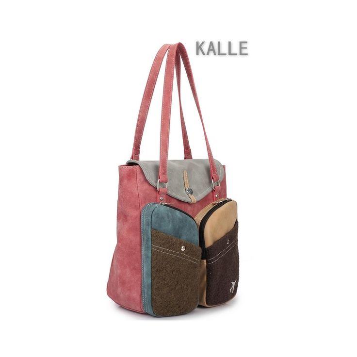 Schoudertas Kalle van Hi-di-Hi uit de collectie Expedition North is een fijne tas voor dagelijks gebruik. Veel opbergruimte, vakken en prachtige winter kleuren.