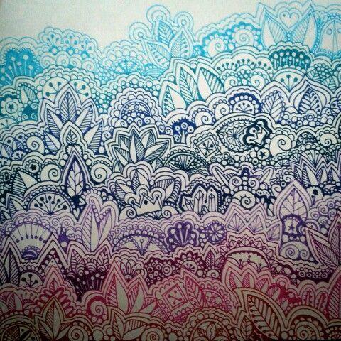 Zendoodle by Anna Szabo facebook.com/annasartgallery @szabo_anna_k #mandala #zendoodle #doodle #patterns #linework #art #drawing