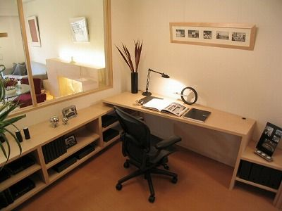 SOHOスタイルの書斎