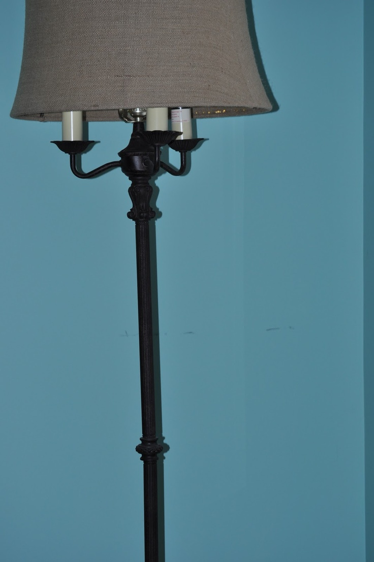 Antique floor lamps with light in base this floor lamp for Antique floor lamp with nightlight in base