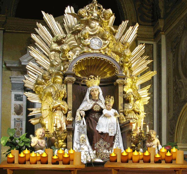 Richiesta di Preghiera alla Madonna del Carmine | BENVENUTI NEL SITO UFFICIALE DELL'ORDINE CARMELITANO