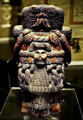 AMAUTACUNA DE HISTORIA: IMÁGENES DE DIOSES AZTECAS