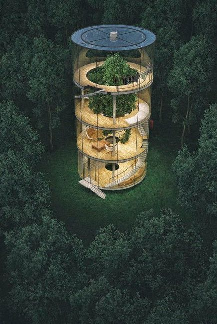 DIY Tree House Ideen & wie man ein Baumhaus baut (…
