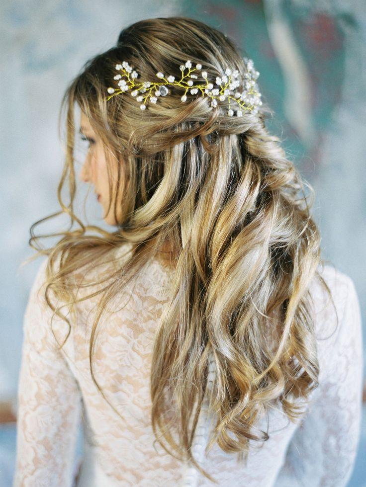 Best 25 Wedding Hairstyles Ideas On Pinterest: Best 25+ Wedding Hair Half Ideas On Pinterest