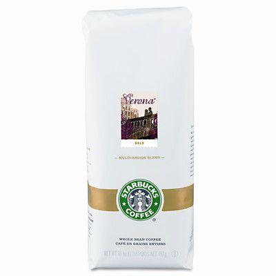 FIVE STAR DISTRIBUTORS, INC. Starbucks Coffee, Verona, Ground, 1 Lb. Bag