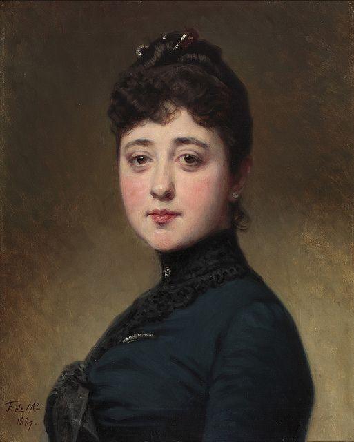 Federico de Madrazo, Mercedes de Madrazo y Rosales, Óleo sobre lienzo, 1887