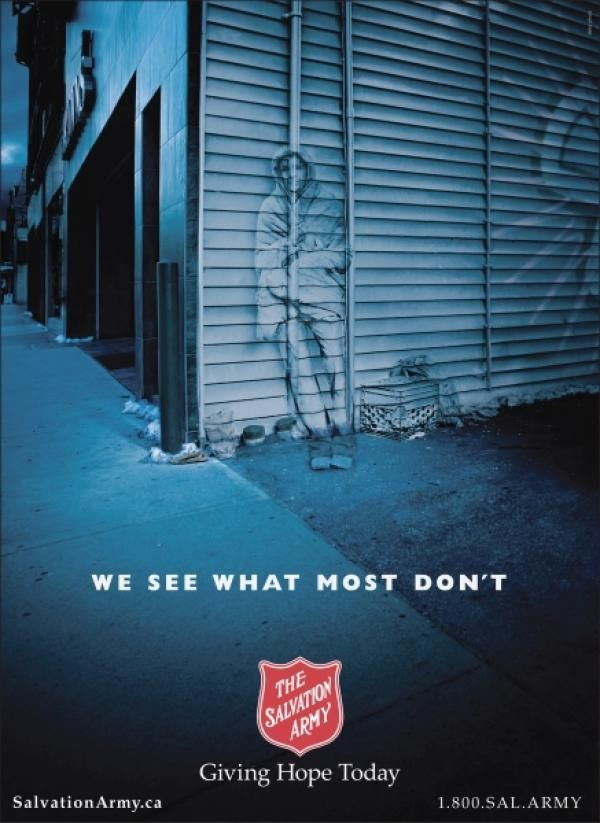 Homeless Awareness Quot Alleyway Quot Outdoor Advert By Aclc