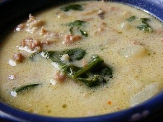 Zuppa Toscana~ My very favorite soup! Made this 10/19/2013...Love, Loved it!