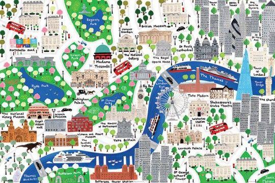 Londyn Jamie Malone - plakat