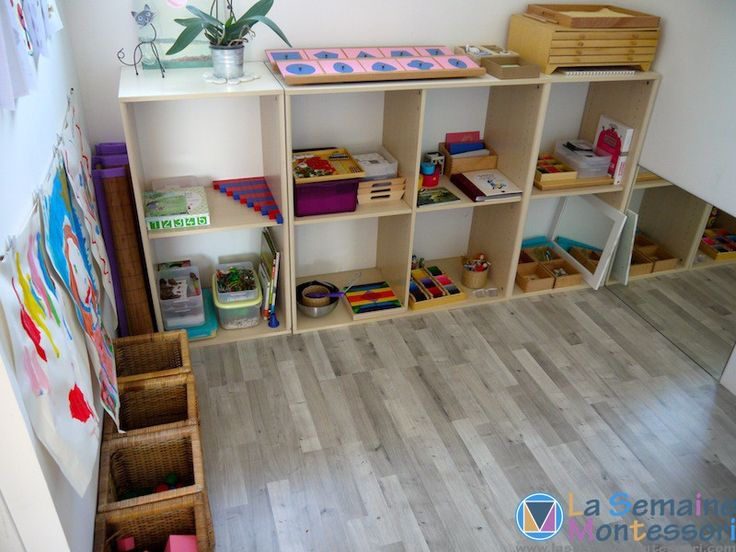 Montessori dans un petit espace...