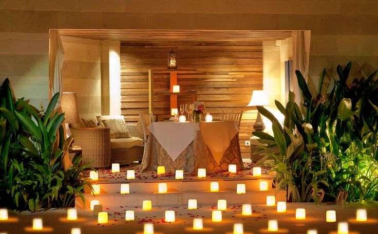 AYANA Resort and Spa - romantic dining