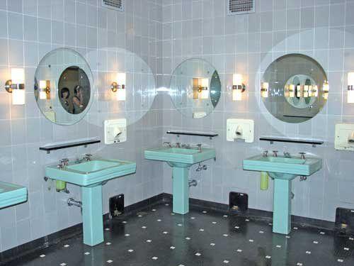 Women's Downstairs Lounge, Radio City Music Hall