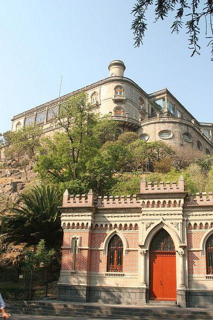 Castillo de Chapultepec,y casa de los espejos, Mexico City, Mexico