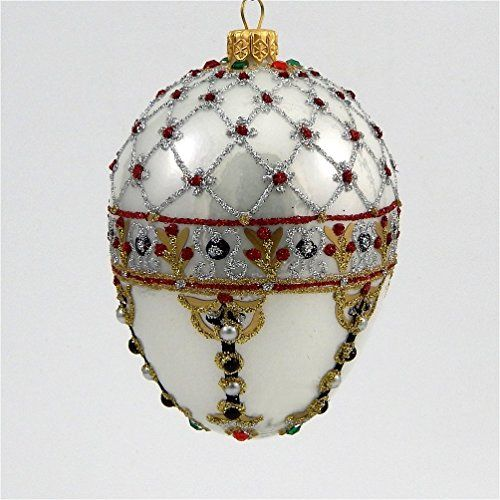 24 Best Faberge Style Christmas Ornaments