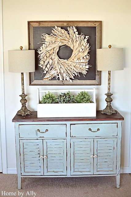home by ally how to add character to your home 10 easy decorating a hutchdecorating ideasdecor ideasentryway