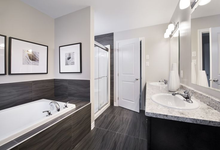 This is our new Amherst model home in Findlay Creek. This model features finishes that are included in your Tartan home.