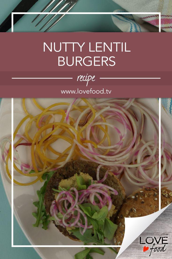 Nutty Lentil Burgers