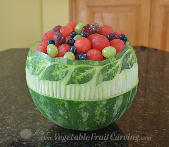 Best watermelon carving images on pinterest
