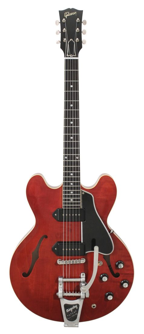 Gibson Custom Shop Electric Guitar ES-330 Reissue Vintage Cherry with Bigsby   Rainbow Guitars